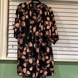 Cotton on kimono size medium- like new